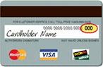 CVC Visa, Master card image