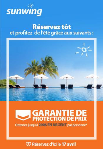 GARANTIE DE PROTECTION DE PRIX