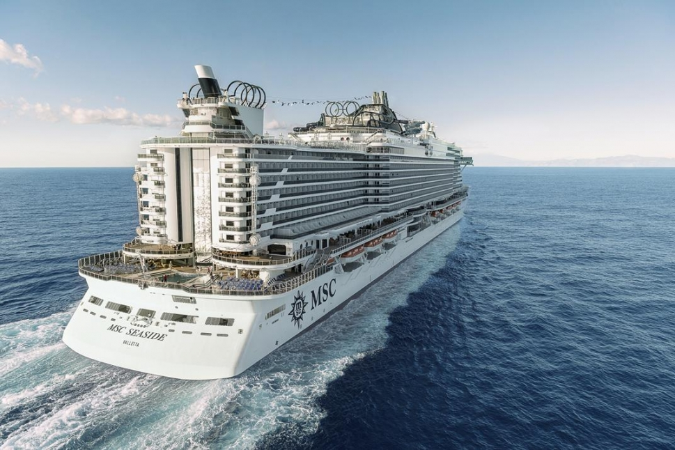 MSC Seaside boat