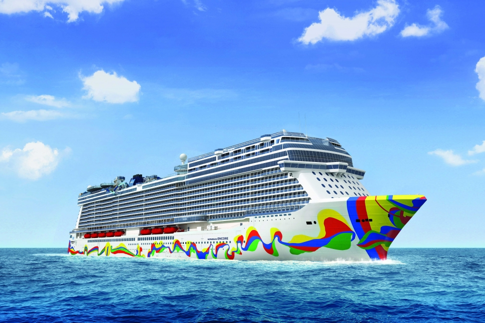 Norwegian Encore boat